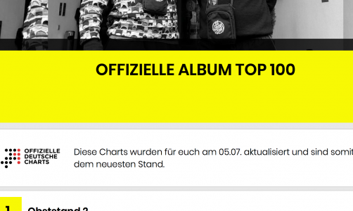 """The Rocket"" hits the German pop charts"